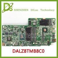 Kefu dalz8tmb8c0 REV: C для Lenovo IdeaPad U410 Материнская плата ноутбука dalz8tmb8c0 REV: C i3 Процессор 100% полностью протестированы mothrboard