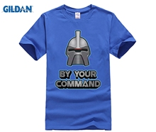100% cotton O-neck printed T-shirt Battlestar Galactica T Shirt Cylon for men