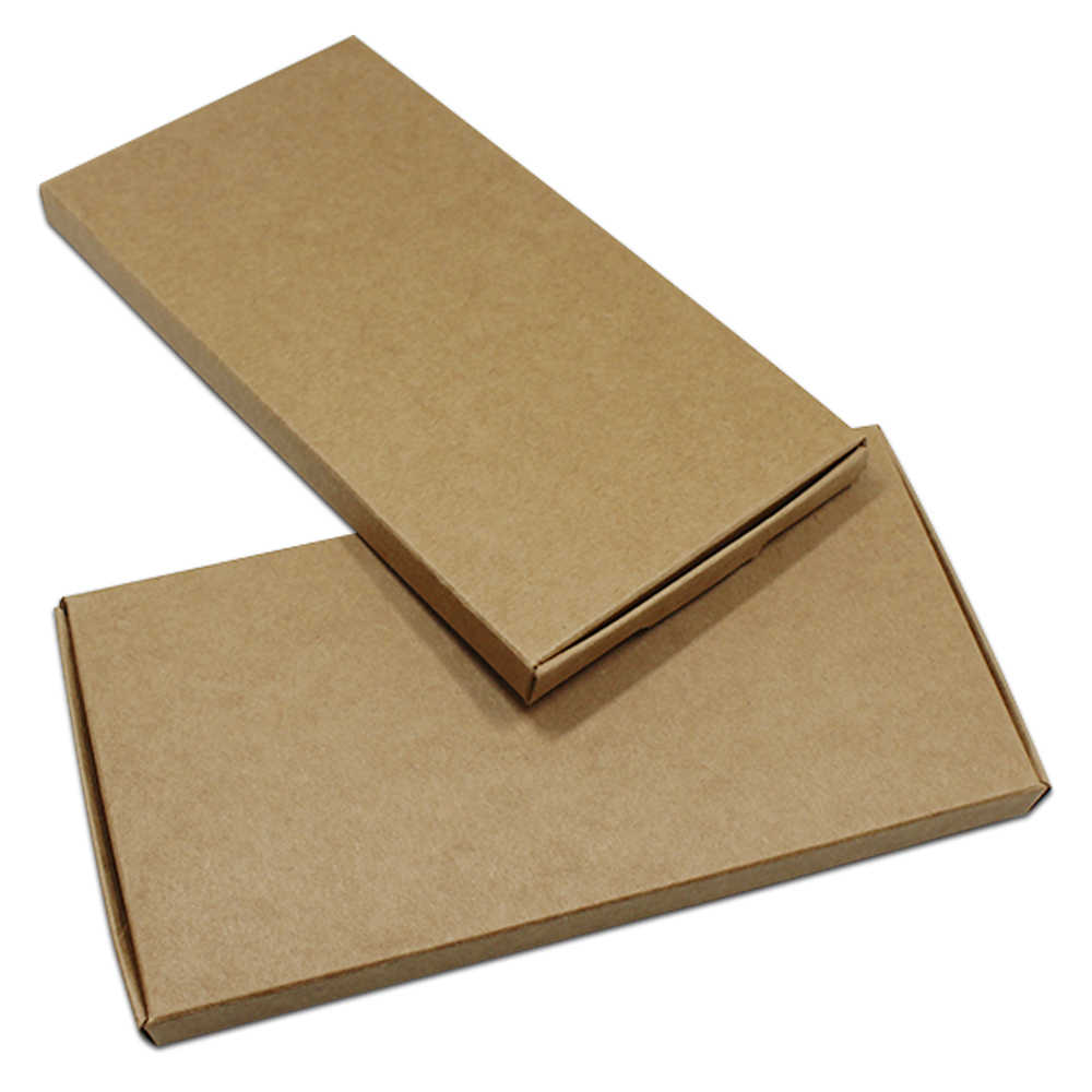 30Pcs/lot Brown Large 4 Sizes Carton Paper Package Box Party Gifts Supply Kraft Paper Packing Box Paperboard Sundries Pack Box