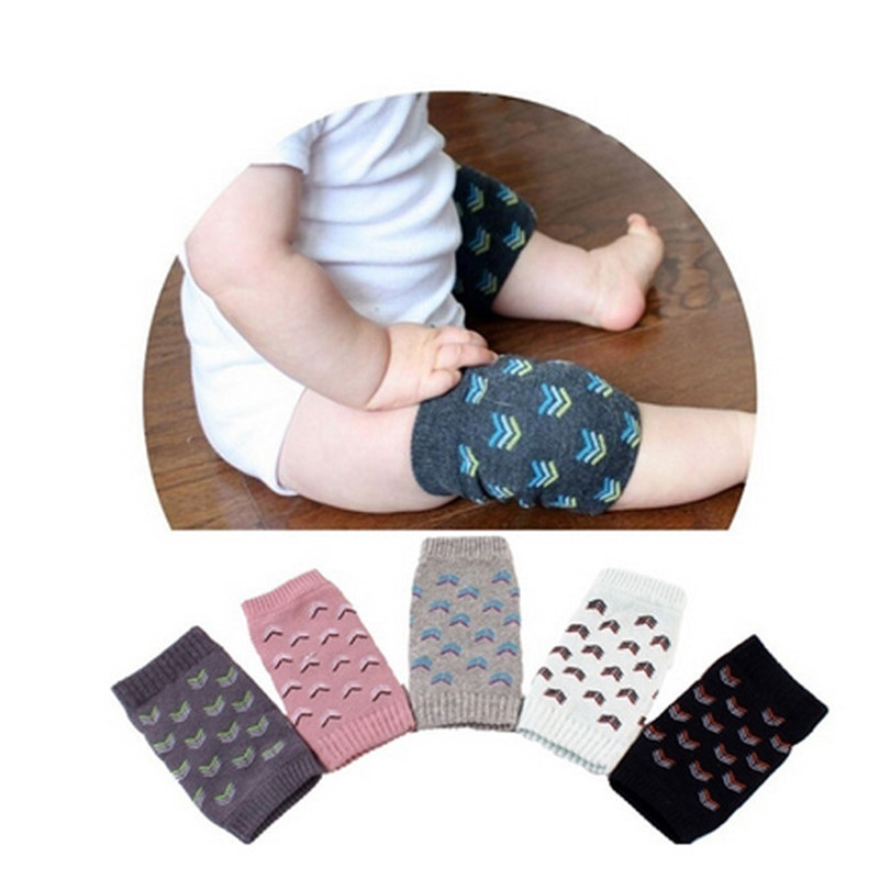 Baby Safety Knee Protection Pads Cartoon Cotton Kids Baby Safety Knee Pads Crawling Protector Baby Leg Warmers Kneecap