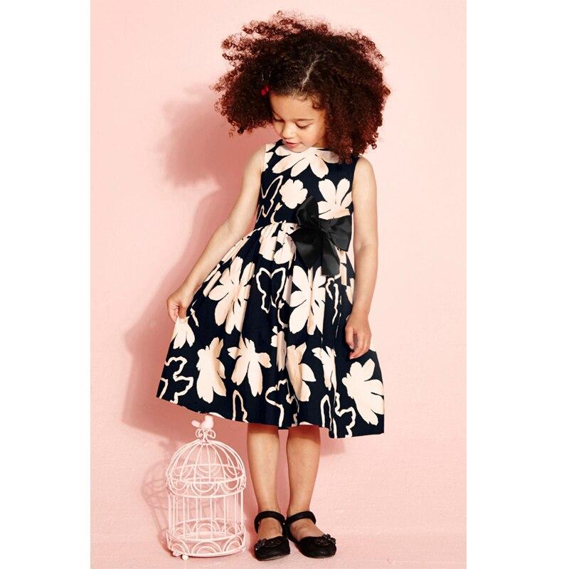 d2bec7faaed8f جديد كبير زهرة الصيف الطفلات فستان عارضة فساتين الأطفال فستان طفلة ملابس  الاطفال ملابس الأميرة الحلوة