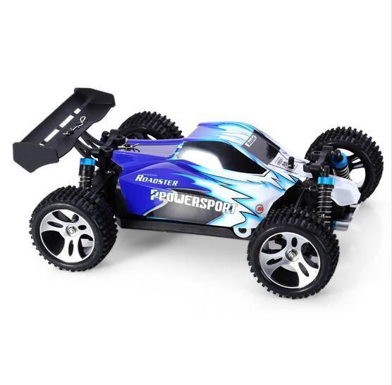 WLtoys A959 Electric 1:18  Rc Cars 4WD Shaft Drive Trucks High Speed 45KM/H Radio Control Monster Truck Super Power Ready to Run