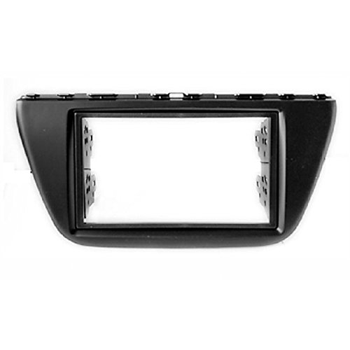 2 Din Car Radio Stereo Fascia Panel Frame DVD Dash Installation Kit for Suzuki Sx4, S Cross 2013+ with 173*98mm 178*102mm by CAR 2 din car radio stereo fascia panel frame dvd dash installation kit for ssang yong tivoli 2015 with 178 102mm 173 98mm