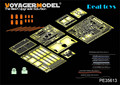 Voyager MODEL 1/35 PE35613 WWII German Tiger I Early Production (For Zvezda 3646)