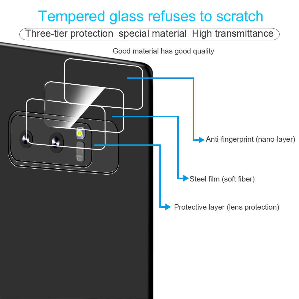 Camera Lens Tempered Glass Film For Samsung Galaxy S9 S10 S9 A8 Plus Screen Protector for Samsung M20 M10 Note 9 8 A9 Star S7