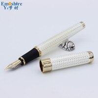 اللوازم المكتبية المدرسة أعلى الشهيرة العلامات التجارية عالية الجودة كلاسيكي نافورة القلم أفضل جودة نافورة الأقلام القلم الهدايا JHO17