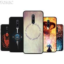 Lord of The Rings one Silicone Case for Oneplus 7 7Pro 5T 6 6T Black Soft Case for Oneplus 7 7 Pro TPU Phone Cover