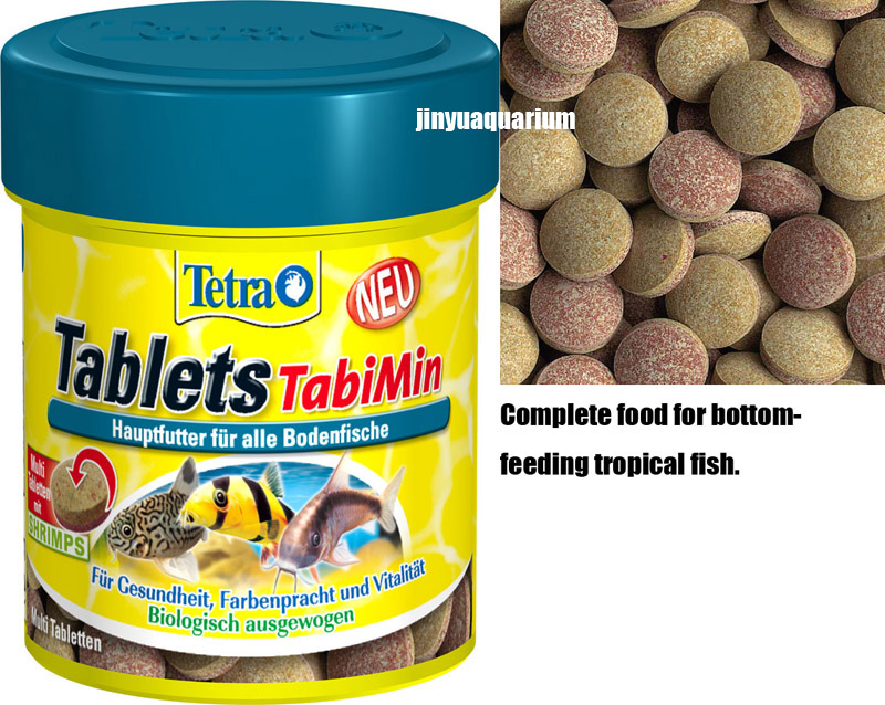 Tetra tablets tabimin suckermouth catfish benthic fish for Bottom feeder fish list