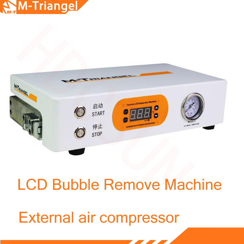 MT Mini High Pressure Auto LCD Autoclave Bubble Remove Machine remove lcd bubble oca bubble for 7 inch Screen Repairing newest mini defoaming machine oca adhesive sticker high pressure lcd touch screen air bubble remove machine for mobile refurbish