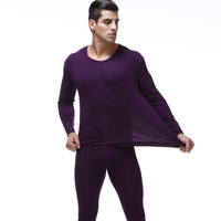 High Quality Plus Size 7XL Man Long Johns Suits Men Thin Modal Thermal Underwear Sets O