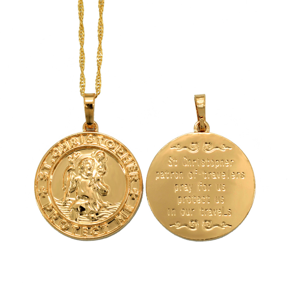or Sterling Silver PicturesOnGold.com Saint Luis Batiz Sainz Religious Medal 14K Yellow or White Gold