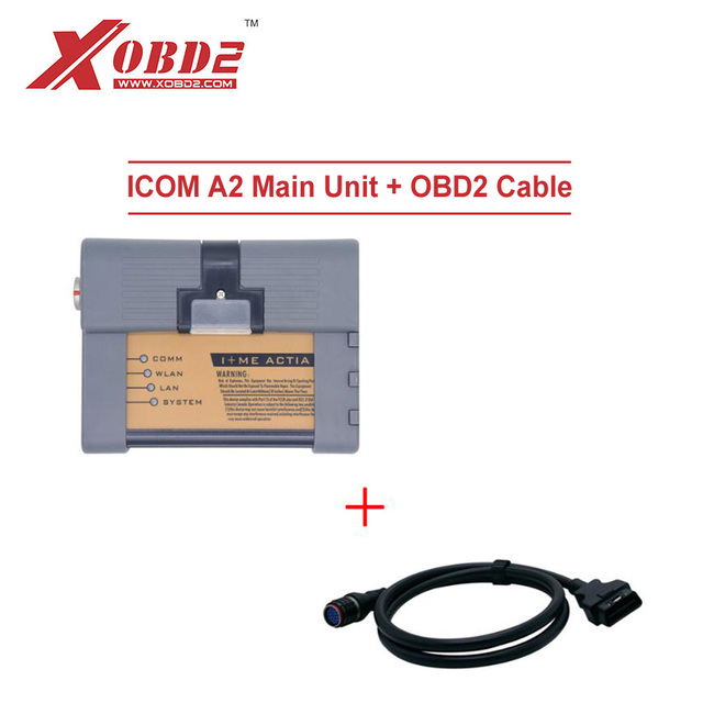 US $225 0 |Best Price ICOM A2 Main Unit Plus OBD2 Main Cable for B MW  Diagnostic and Programming Tool A2+B+C without Software HDD ISTA ISIP-in  Engine