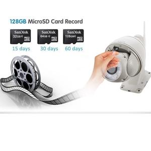 Image 3 - Sricam SP008B 720P açık IP kamera 5X dijital Zoom su geçirmez Wifi kamera Alarm itme 2 yönlü ses kablosuz dome güvenlik CCTV PTZ
