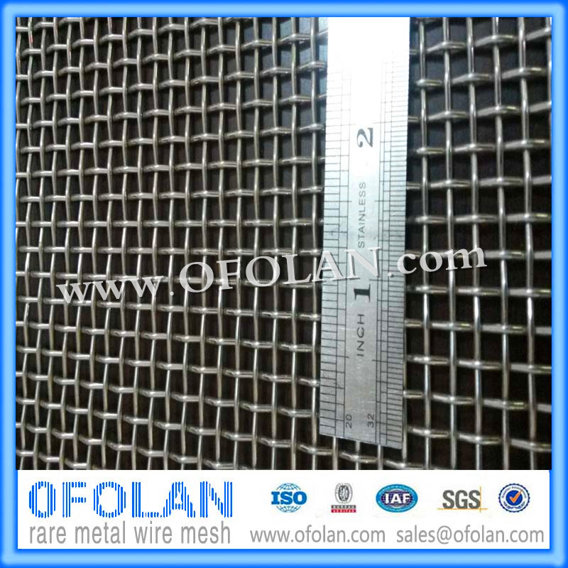 UNS S31803/2205 Duplex Stainless Steel Wire Mesh 10 Mesh in Flue Gas ...