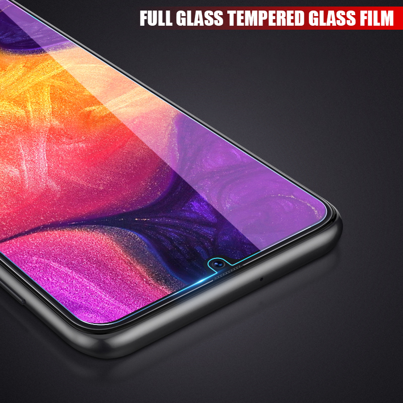 Tempered Glass For Samsung Galaxy A10 A20 A30 A50 A70 M10 M20 M30 A6 A8 Plus A7 2018 Screen Protector Film 9H Protective Glass