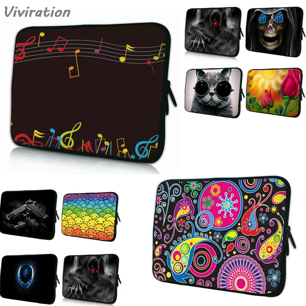 Viviration Many Designs New Sale 2018 Colorful Women Mens Portable Sleeve Bag Soft 7 10 12 13 14 15 17 Laptop Cover Case Pouch