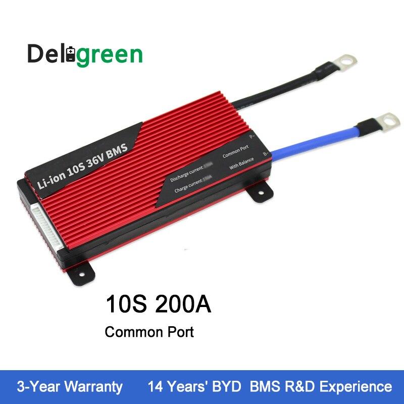 Deligreen 10S 200A 36V PCM/PCB/BMS for Li-PO battery pack 18650 Lithion Ion Battery Pack Deligreen 10S 200A 36V PCM/PCB/BMS for Li-PO battery pack 18650 Lithion Ion Battery Pack