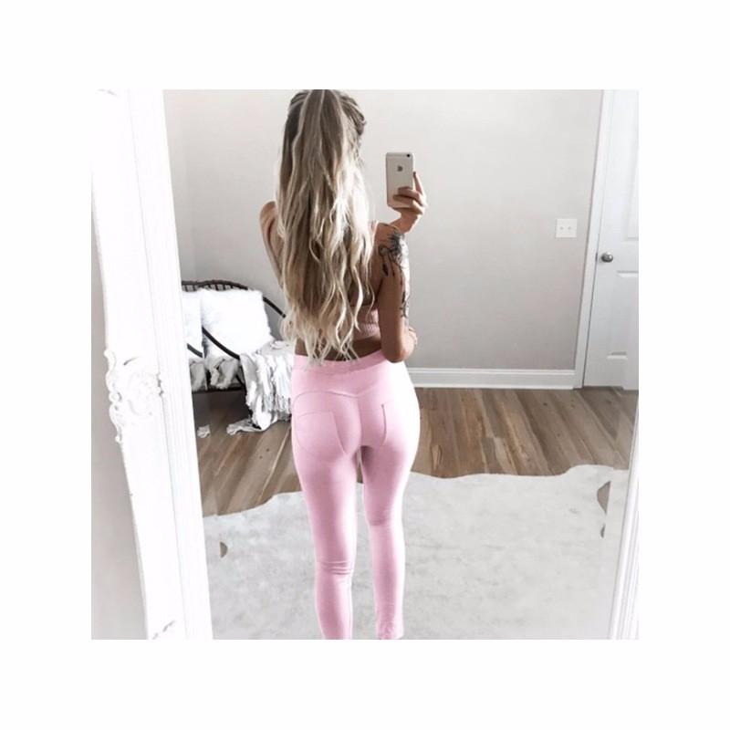 women push up hip leggings pants pants -2