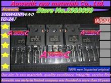 Aoweziic 100% new imported original STGWA19NC60HD GWA19NC60HD STGW38IH130D GW38IH130D STGW45HF60WD GW45HF60WD TO 247 transistor