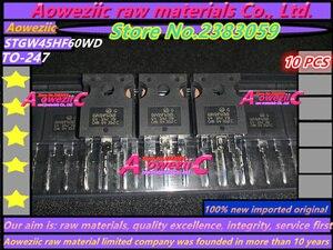Image 1 - Aoweziic 100% yeni ithal orijinal STGWA19NC60HD GWA19NC60HD STGW38IH130D GW38IH130D STGW45HF60WD GW45HF60WD TO 247 transistör