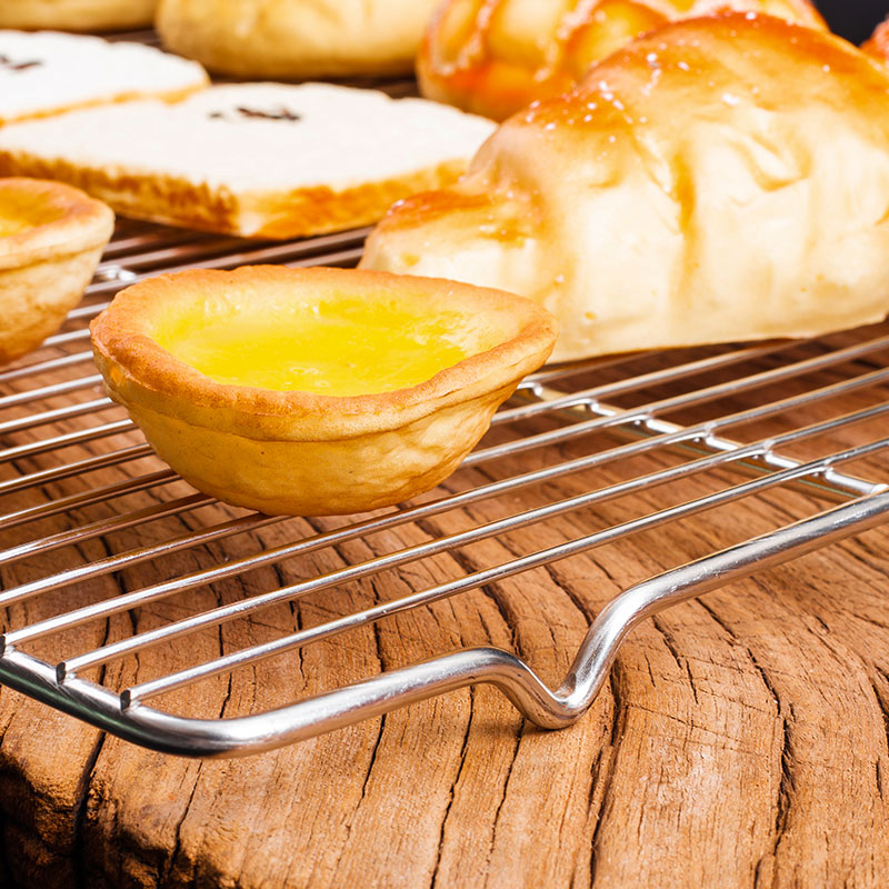 Stainless Steel Non Stick Cooling Rack Net Cooling Grid Drying Stand Cooler For Bread Cake Cookies Pie Mould