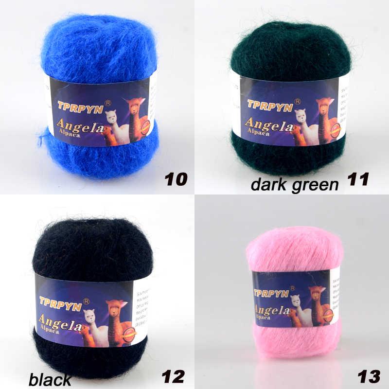 Tprpyn 1 шт. = 42 г из мягкого мохера для ручного вязания вязальная пряжа в меховая шапка клубки ниток мохер шерсть для вязания