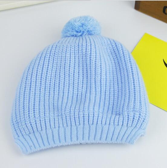 New arrival Autumn winter baby caps imitation cashmere newborn infant hat&caps 5 colors boys girls cap