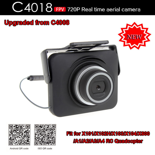 ФОТО  hot sell C4018 FPV 720P Real Time Aerial WIFI Camera for X101 X102 X103 X600 RC Drone camera