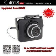 La venta caliente 2016 nueva llegada C4018 FPV 720 P Real tiempo WIFI Aérea Cámara para X101 X102 X103 X600 Drone RC cámara