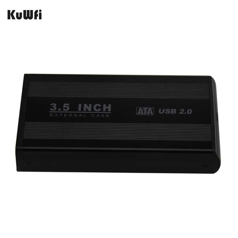 3.5 Pouce HDD USB 2.0 SATA Externe Disque Disque Dur Boitier couverture Soutien Disque Dur jusqu'à 1 TB jusqu'à 480 Mbps de Transfert de Données