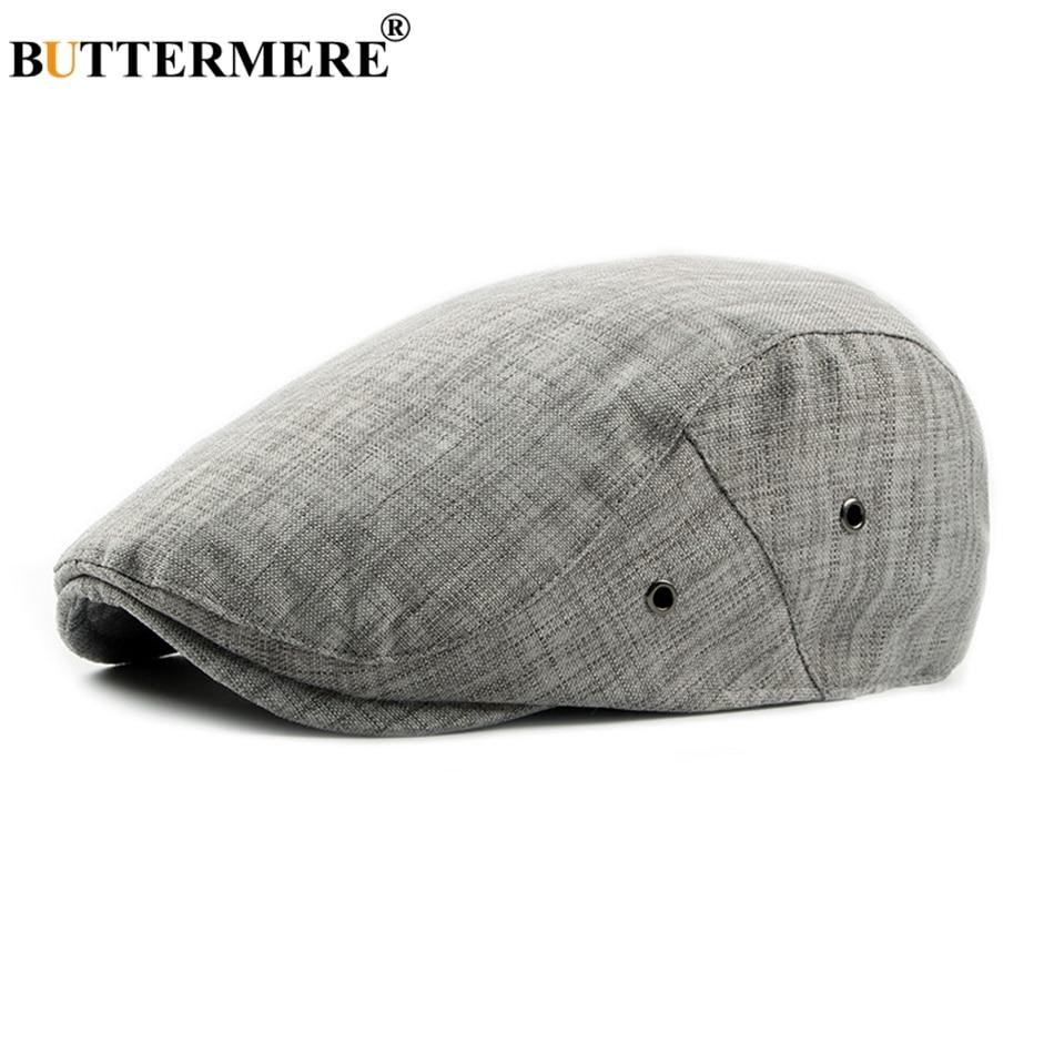 BUTTERMERE Caps Flat-Beret-Cap Driver-Hat Spring Ivy-Cap Classic Adjustable British Vintage