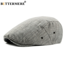BUTTERMERE Flat Beret Cap Adjustable Women Gray British Classic Cotton Ivy Cap Male Spring Casual Vintage Driver Hat And Caps buttermere flat beret cap adjustable women gray british classic cotton ivy cap male spring casual vintage driver hat and caps