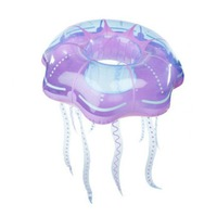 Inflatable Gaint Crystal Jellyfish Swimming Ring Creative Design Women Swim Tube Beach Summer Water Party Pool Toys