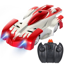 La nueva pared de techo de cristal de escalada coche RC gravedad cero piso Mini Racer Control remoto oruga juguetes para niños niño