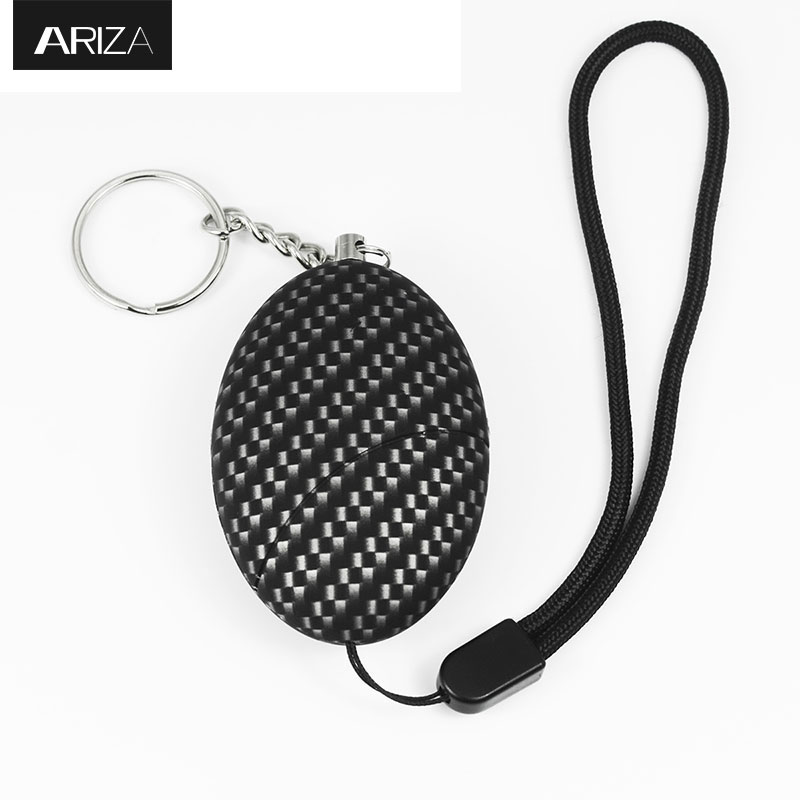 Ariza self defense supplies bracelet personal alarm keychain personal safety alarm emergency alarm panic alarm for women elderly 2016 2pcs a lot self defense supplies alarm personal key ring protection alarm alert attack panic safety security rape alarm
