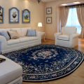 Lanskaya American Pastoral big  carpets living room washable large rugs  hotel Oval Bedroom Slip Resistant mat