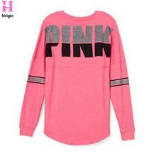 Fashion Brand Tshirt Women Casual Print Pink Letter Tops T S