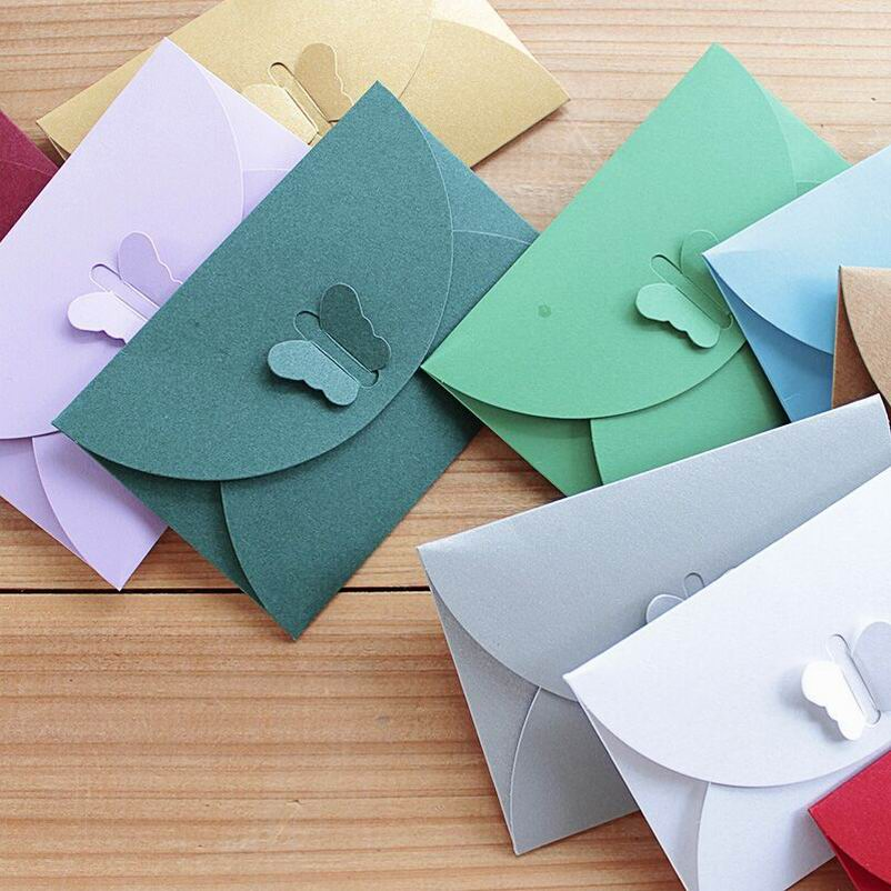 3000 PCS Small Envelope For VIP Cards, Message Cards Packing Mini Size