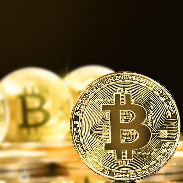 Домашнее украшение ремесла не-валютные Позолоченные Монеты монета BTC монета-Биткоин коллекция искусство подарок физическая монета для дропшиппинг