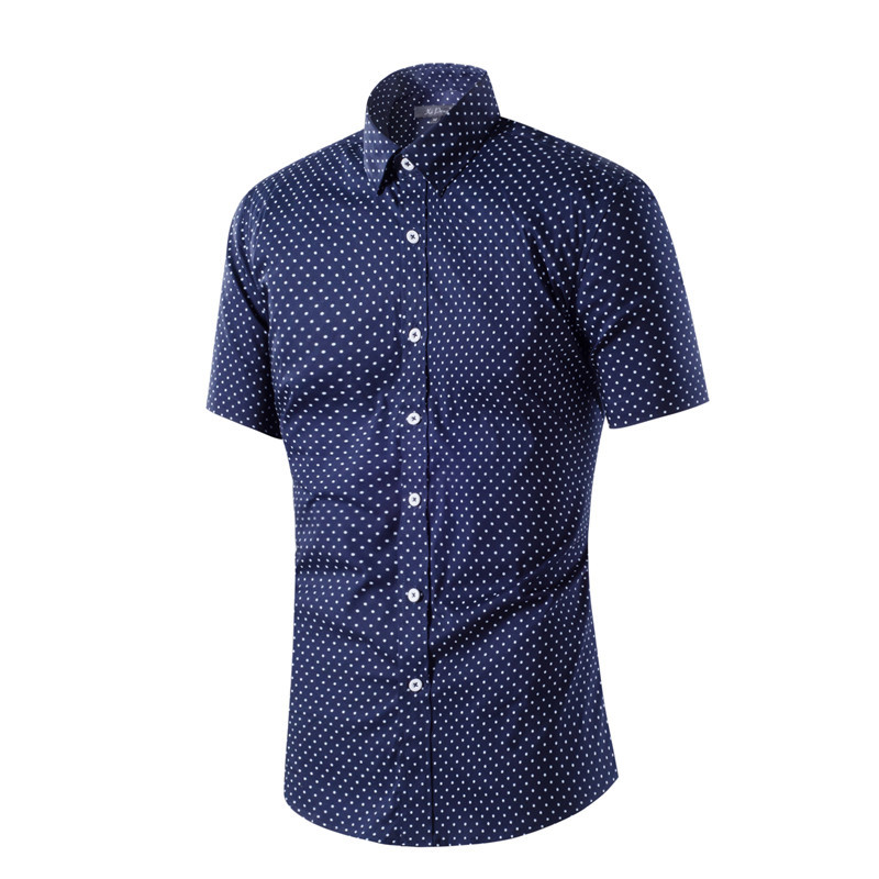 Compare Prices on White Polka Dot Shirt Men Dress- Online Shopping ...