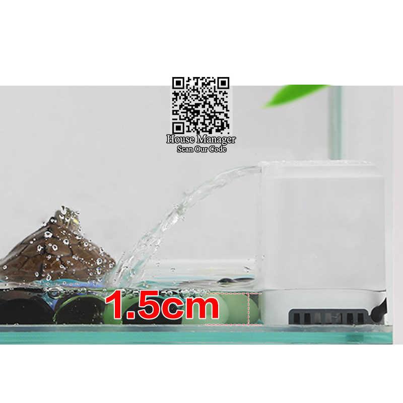 Aquarium เต่าน้ำปั๊มกรอง 2 W,ต่ำตำแหน่ง run น้ำ, mini Fountain น้ำตก Maker สำหรับเต่า turtle tank