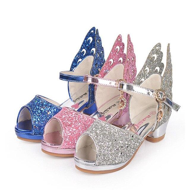 Chaussures enfants Summer poisson Bouche ouverte Toe Sandales Filles Princesse HZ68HGITu