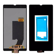 Adhesive For Sony Xperia Z L36h C6606 C6603 C6602 C660x c6601 LCD Display with Touch Screen Digitizer Assembly Free shipping