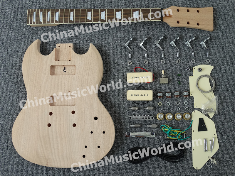 SG Electric guitar Kit of Afanti Music(ASG-526) цена