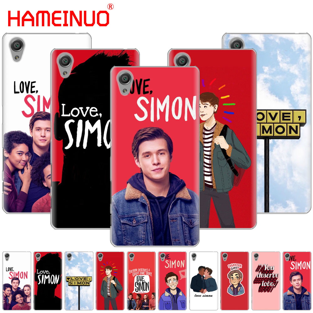 Enthusiastic Hameinuo Love Simon Cover Phone Case For Sony Xperia C6 Xa1 Xa2 Xa Ultra X Xp L1 L2 X Xz1 Compact Xr/xz Premium As Effectively As A Fairy Does Cellphones & Telecommunications Phone Bags & Cases
