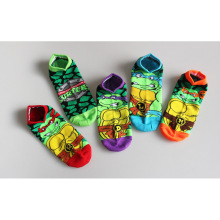 New Fashion Short Low Cut Ankle Socks 5 Colors Stocking Ninja Turtles Socks 1Pair lot Meia