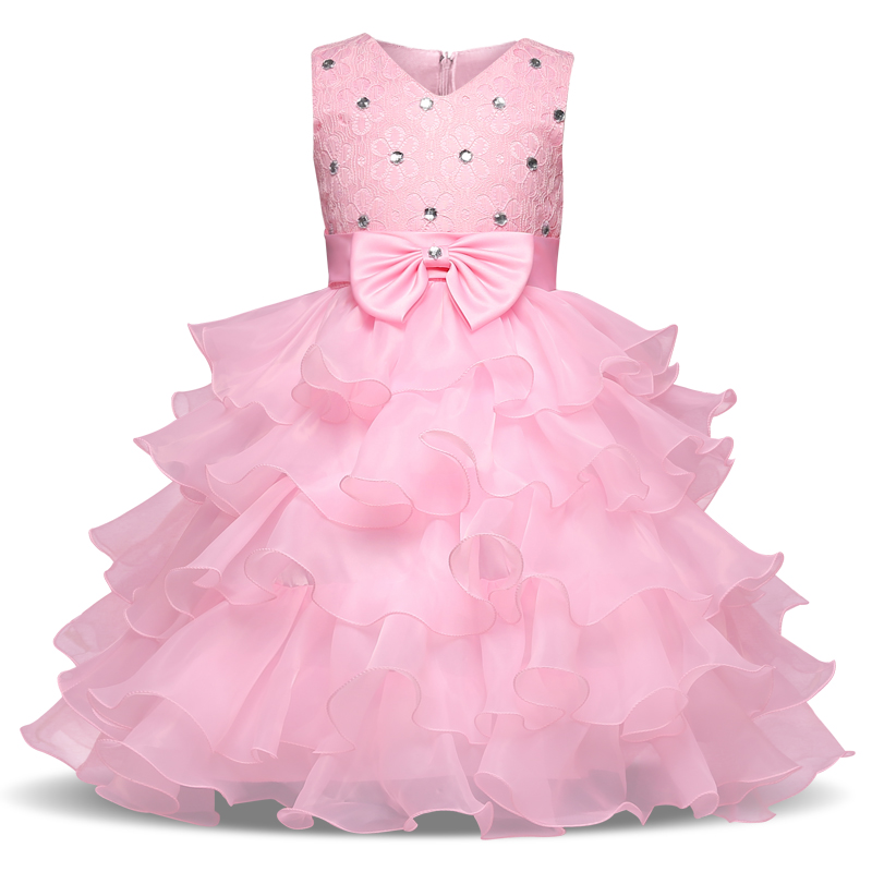 Baby Dresses Girls Kids Evening Prom Wedding Gown Little Girls Party Dresses First Birthday Outfits Children Girl Events Wear baby girl dress children kids dresses for girls 2 3 4 5 6 7 8 9 10 year birthday outfits dresses girls evening party formal wear