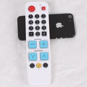 Learning Remote Control with backlight, Big button controller for TV VCR STB DVD DVB,TV BOX, Easy uses for old people.