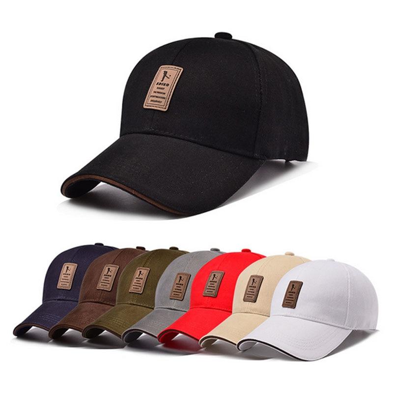2017 spring summer Plain Casual golf Sports cap baseball hat for Unisex Mens Womens Adjustable soild color Trucker Hats