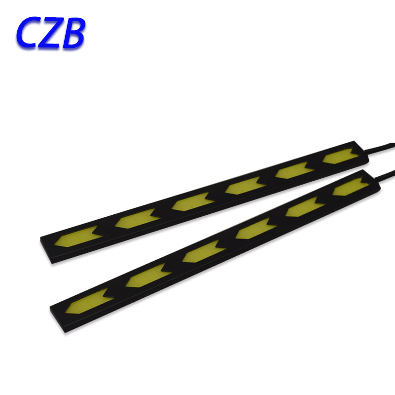 2pcs 17cm COB Auto Replacement Parts External Lights 17cm 2*6W daytime running lights LED lights Factory outlets fast shipping